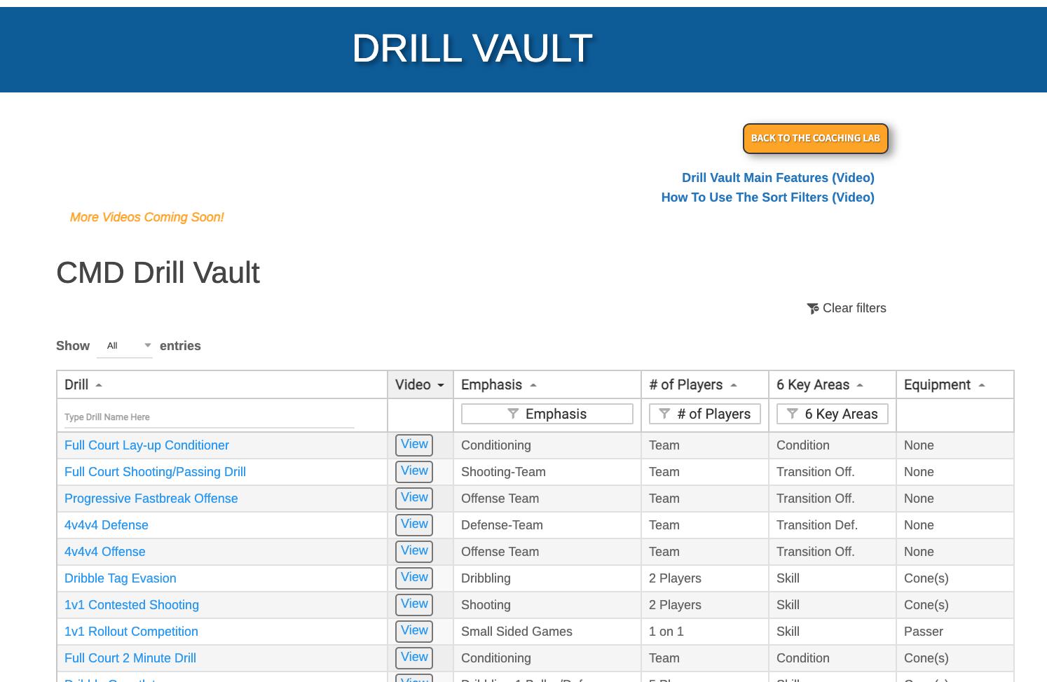 Drill Vault 1