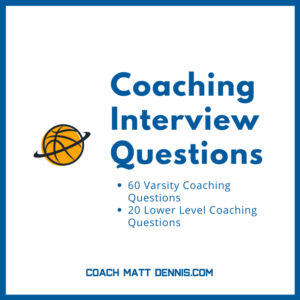 Coaching Interview Questions