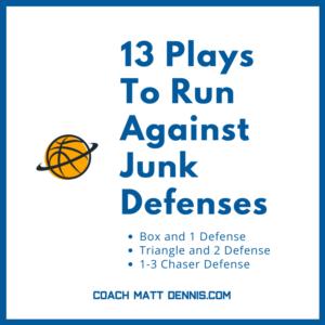 13 Plays To Run Against Junk Defenses
